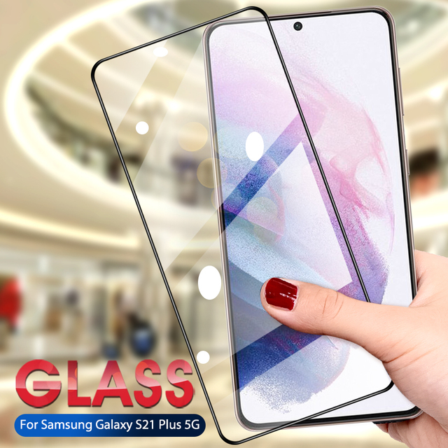 Glass For Samsung Galaxy S21 Ultra Plus Tempered Glasses Screen Film For Samsung Galaxy S21 Ultra/S21 Plus Protective Glass 1
