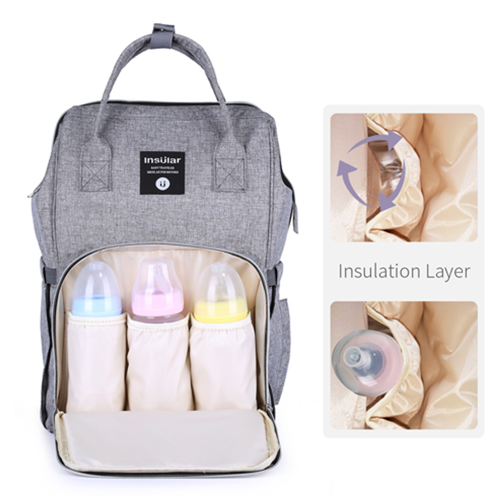 Baby Mommy Diaper Bag Backpack Large Capacity Maternity Nappy Bags Multifunction Bolsa Mochila Maternidade Stroller Organizer