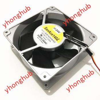 Sanyo Denki 9LB1424H5H03 DC 24V 0.63A 140x140x50mm Server Cooling Fan