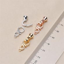 Модные ювелирные изделия застежки из сплава меди серебряного/золотого/розового