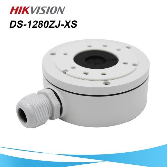 Em estoque hikvision cctv bracket DS 1280ZJ XS liga de alumínio juction caixa para câmera bala DS 2CD1021 I DS 2CD1041 I