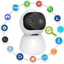 HD 1080P Indoor WiFi Camera Smart Home Security Surveillance IP Camera CCTV 360 PTZ Monitor Baby / Pet / Nanny / Elder Wi Fi Cam