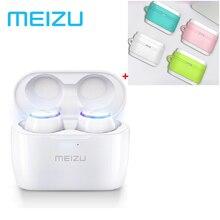 Meizu POP auriculares TWS inalámbricos duales, Mini auriculares deportivos intrauditivos impermeables con carga inalámbrica, TW50