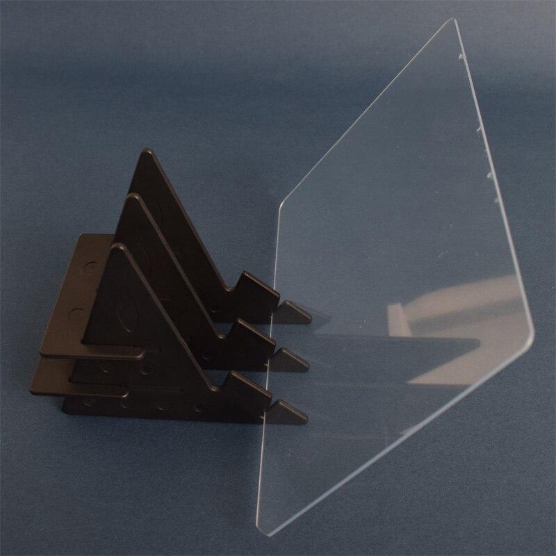 Оптическое изображение доска для рисования объектив эскиз зеркальное отражение Затемнения Кронштейн держатель живопись зеркальная пластина Трассировка стол плоттер - Цвет: Черный