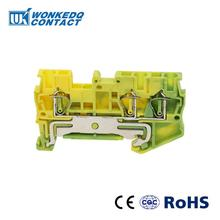 10Pcs ST-2.5TWIN PE  Instead of PHOENIX CONTACT Connectors Return Pull Type Three Conductor Spring Ground Terminal Blocks