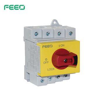 FDIS 2P 32A 600V 4P 32A 1000V DC Solar aislador interruptor TUV certificado TUV 1
