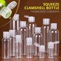 Пластиковая прозрачная крышка для домашних животных, флаконы для лосьона многоразового использования, пустая пластиковая бутылка для обра...