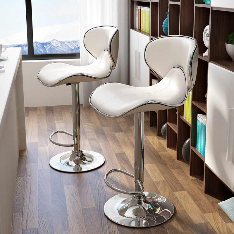 High Bar Chair Contemporary And Contracted The Bar Chair Creative Bar Chair Lift The Bar Stool Chair Leather Seat