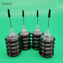 Черный цвет 30 мл печать чернил комплект совместимая краска для заправки чернил сменный для canon EPSON HP, Brother 4 упаковки