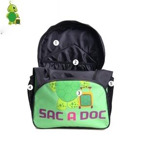 Image 4 - Dragon Ball Super Broly Backpack Pencil Case School Bags  for Teenager Boys Girls  Lunch Backpack 3Pcs/Sets Kids Travel Rucksack