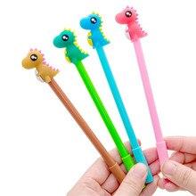 1pcs Baby Dinosaur Cartoon Gel Pen Cute Magic Pens Kawaii Gel Pens For School Writing