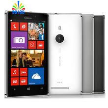 Original Unlocked Lumia 925 Dual-core 4.5″ screen single sim 1GB+16GB 87MP camera Refurbished Windows phone