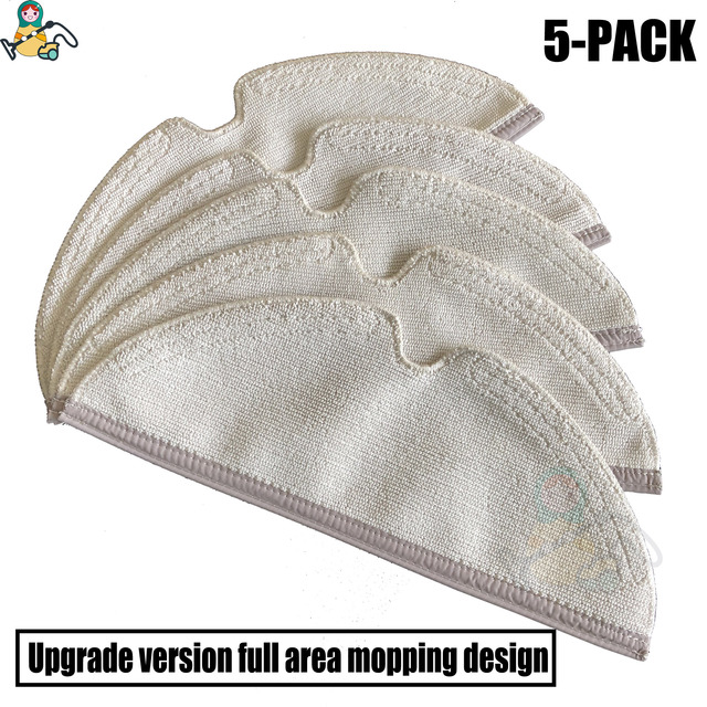 Mopping pads mop cloths rags for Xiaomi Roborock S5 Max S6 Pure S6 MaxV S50 S55 S5  Xiaowa E25 E35  vacuum cleaner parts