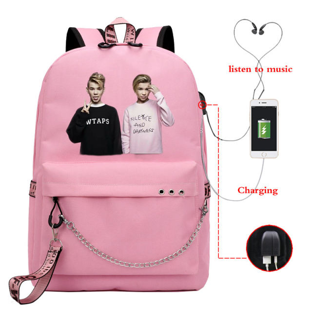 MARCUS AND MARTINUS THEMED BACKPACK (21 VARIAN)