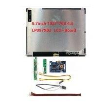 Плата драйвера контроллера HDMI VGA 2AV для Ipad 2 1024X768 9,7 дюймов LP097X02 SLQ1 SLQE SLN1 SLP1, ЖК-экран