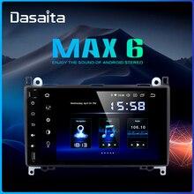 "Dasaita 9 ""IPS 2 الدين سيارة مشغل وسائط متعددة ل بنز الفئة ab العداء فيتو 2006 2007 2008 2009 2010 2011 2012 Autoradio ستيريو"