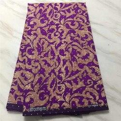Fioletowy Ankara afryki tkaniny wosk drukuj z kamieni Ankara wosk drukuje hurtownia nigerii wosk do szycia materiał 6 metrów