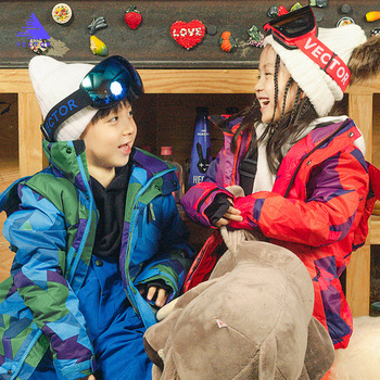 Girls Winter Outdoor Ski Sets Ski Suit Children Windproof Waterproof Warm Skiing Jacket Skiing Pants For Boys Girls Clothing Set skiing for dummies®