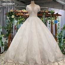 LS34449 свадебное платьерукав крылышко торжественное платье с бисером с круглым вырезом милая дешевые КРАСОТЫ свадебное торжественное платье ing платье Китай 2018 новейший дизайн