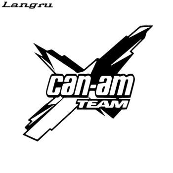 Langru 18*16,1 см Can-am Team Наклейка Виниловая наклейка для автомобиля и других новых стильных автомобильных аксессуаров Jdm