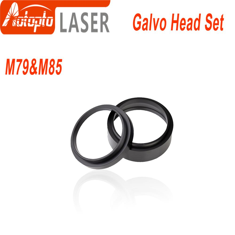 F-theta Lens Male Thread Reverse Adapter Ring Height 18mm 34mm For Thread M85 M79 CO2 Laser & Fiber Laser Marking Machine