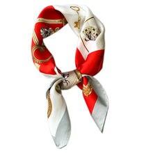 70*70 см модные хлопковые повязки на голову квадратный шарф