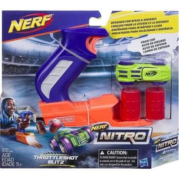 Nerf Nitro Throttleshot Blitz tanie i dobre opinie AR (pochodzenie)