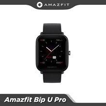 Globale Version Amazfit Bip U Pro GPS Smartwatch 1,43 zoll 50 Uhr Gesichter Farbe Bildschirm 5 ATM 60 + Sport modus Herz Rate Tracking