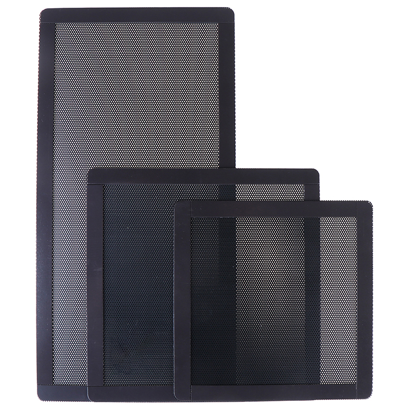 12/14/12x24CM PC Case Cooling Fan Magnetic Dust Filter Mesh Cover Computer Guard