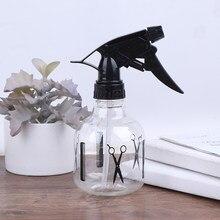 1pc reusável hairdressing spray garrafas beleza ferramenta acessórios ferramenta de salão de cabelo/plantas flores pulverizador de água dupla-uso