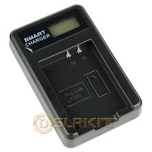 DSLRKIT LP-E10 USB Battery Charger With LCD Screen Display For Canon EOS Rebel T3 T5