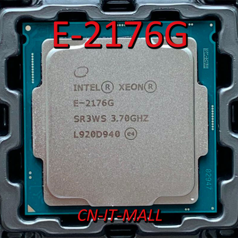 Pulled Xeon E-2176G CPU 3.7GHz 12MB 6 Core 12 Threads LGA1151 Processor