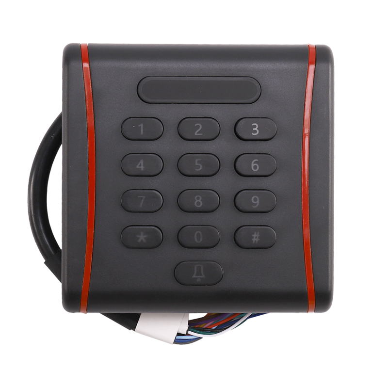 RT381 Rfid Access Control Keypad With 1000 Users+ 10 Key Fobs For RFID Door Access Control System