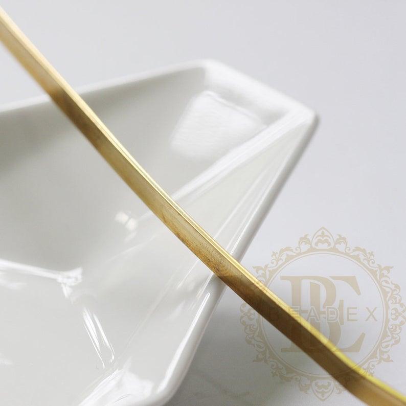 Fio de envolvimento de bronze cru sólido meio duro de um metro-fio liso-18g
