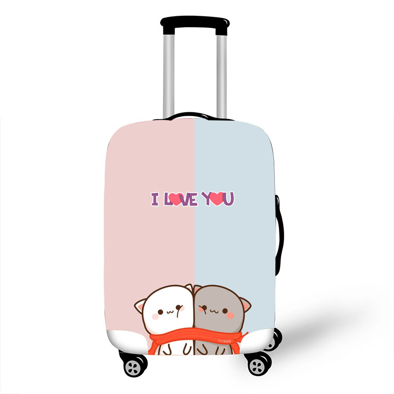 Luggage Protective Cover Case For Elastic 18-32 Inch Suitcase Protective Cover Cases Covers Travel Accessories Three Bears G1232