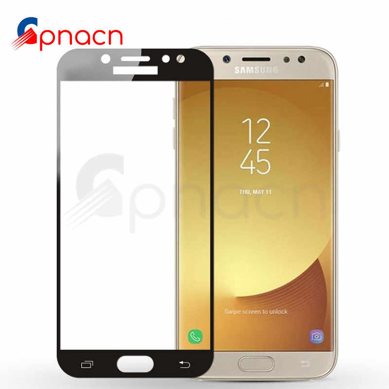 9D Glass on the For Samsung Galaxy A3 A5 A7 Screen Protector Tempered Glass For Samsung J3 J5 J7 2016 2017 S7 Protector Film