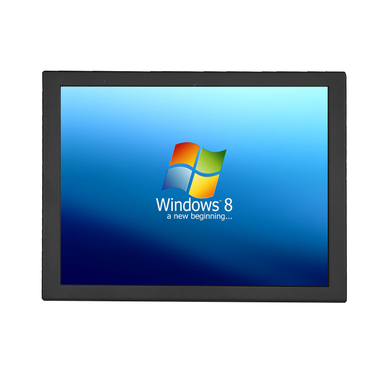 19 inch touch screen monitor 5 wire resistive touch screen lcd industriële monitor - 2