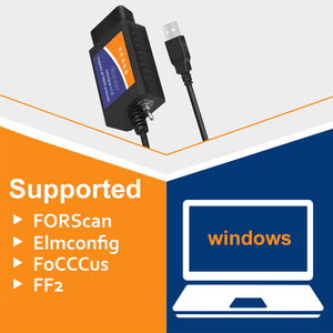 Image 5 - ELM 327 V1.5 USB ELM327 Switch per Ford Forscan ELMconfig lettore di codice OBD2 Scanner strumento diagnostico auto HS CAN MS CAN