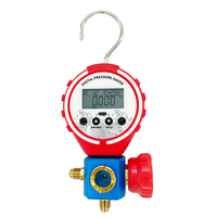 Refrigeration Digital R410a Manifold Pressure Gauge Vacuum Pressure Temperature Meter Test Air Conditioning