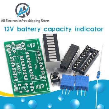strong Import List strong LM3914 10 Segment 3 7V litowo 12V wskaźnik naładowania baterii moduł Tester poziomu mocy wyświetlacz LED elektroniczne zestawy do samodzielnego wykonania tanie i dobre opinie ELECTRICAL NONE CN (pochodzenie) 45*15mm