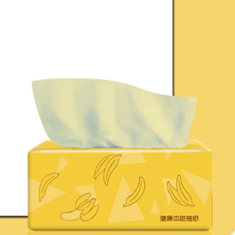 4PCS Silky Smooth Soft Premium 3-Ply Toilet Paper Kitchen Toilet Facial Tissues 11UF