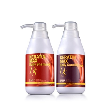 High Quality Superior 300ml Ds Max Daily Shampoo Moisturizing+300ml Deep Conditioner For Repair Dry Hair After Keratin Treatment