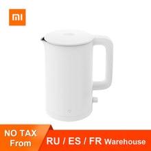 Xiaomi Mijia – bouilloire électrique en acier inoxydable 1A, contrôle Intelligent de la température, Anti-surchauffe, théière à ébullition rapide