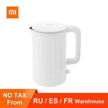 Original Xiaomi Mijia Electric Kettle 1A Fast Hot boiling Stainless Intelligent Temperature Control Anti-Overheat Kettle Tea Pot