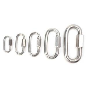Climbing-Gear-Carabiner Lock-Screw Travel-Kit Camping-Equipment Stainless-Steel Safety-Snap-Hook