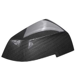 Image 3 - 1 Pair Black Carbon Wing Mirror Cover Cap For BMW 1 Series 2 Series 3 Series 4 Series F20 F21 F22 F30 F31 F32 F33 F35 F36 X3