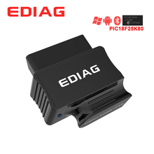 EDIAG P03 ELM327 블루투스 와이파이 V1.5 PIC18f25k80 칩 진단 스캐너 elm 327 V1.5 OBDII OBD2 차량 안 드 로이드 IOS 토크
