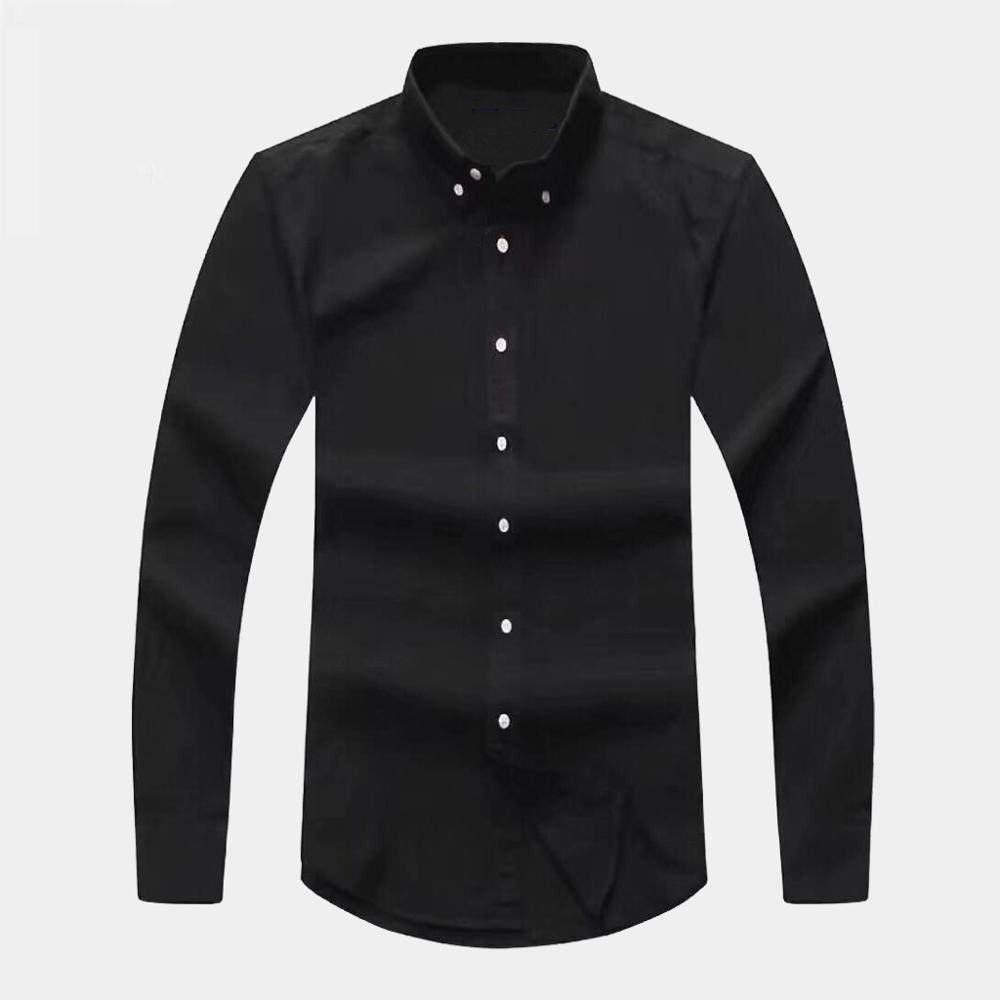 Homme Small Colorful Horse Pony High Quality 100%cotton Thick Camisa Masculina Men Long Sleeve Dress Shirts Hombre Chemises