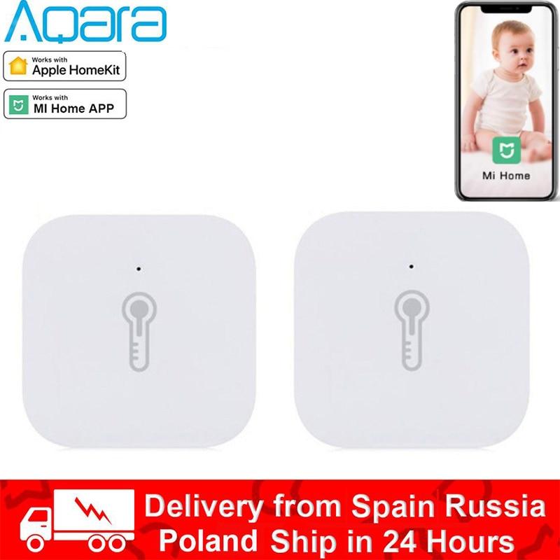 Aqara Temperature Humidity Sensor Environment Air Pressure Mijia Smart Home Zigbee Wireless Control Work With Mijia Mi Home App
