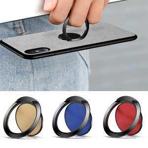 Universal 360 Degrees Rotary Ultra Slim Metal Finger Ring Phone Holder Stand